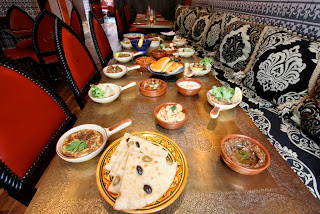 El Cantara, Moroccan restaurant, Soho