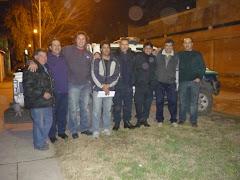 Comitiva Vecinal y Policia Vecinal Molina-Gerpe