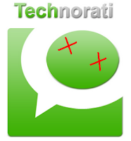 technorati fav logo sucks worst symbol delete  Technorati – No More Internet Blog search engine