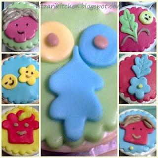 Cartoon Cupcake Faces