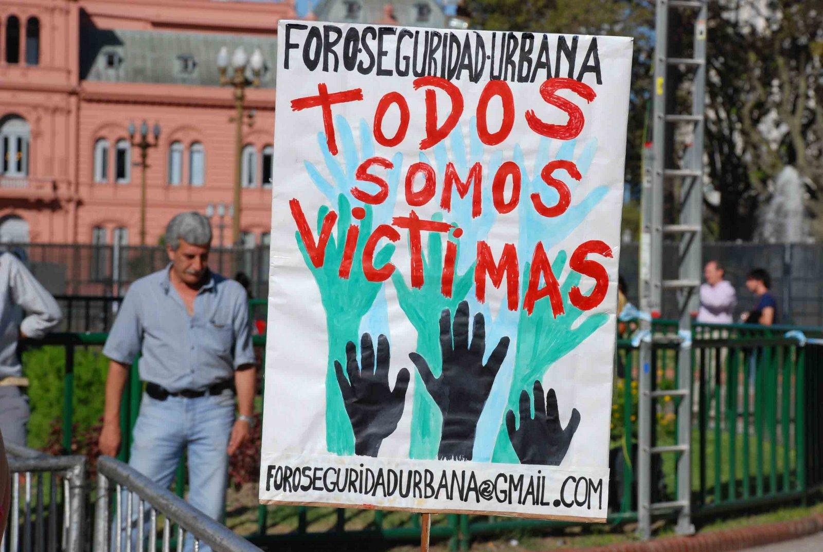 Fotos Marcha por Seguridad en Plaza de Mayo 18 de Marzo