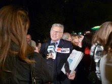 Reportaje a Moderador del Foro Sr. Juan Anibal Gómez por C5N y TN.-