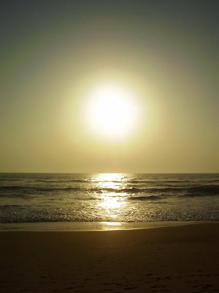 Atardecer en la Playa de Camposoto