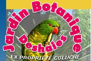 Logo du jardi botannique de Deshaies