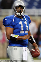 Detroit Lions quarterback Daunte Culpepper