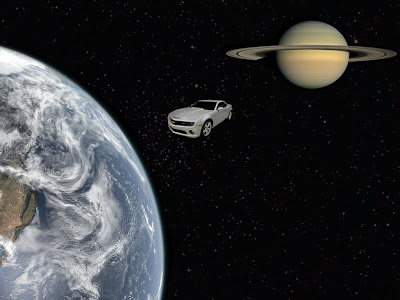 Beyond Our Planet - Car in Space