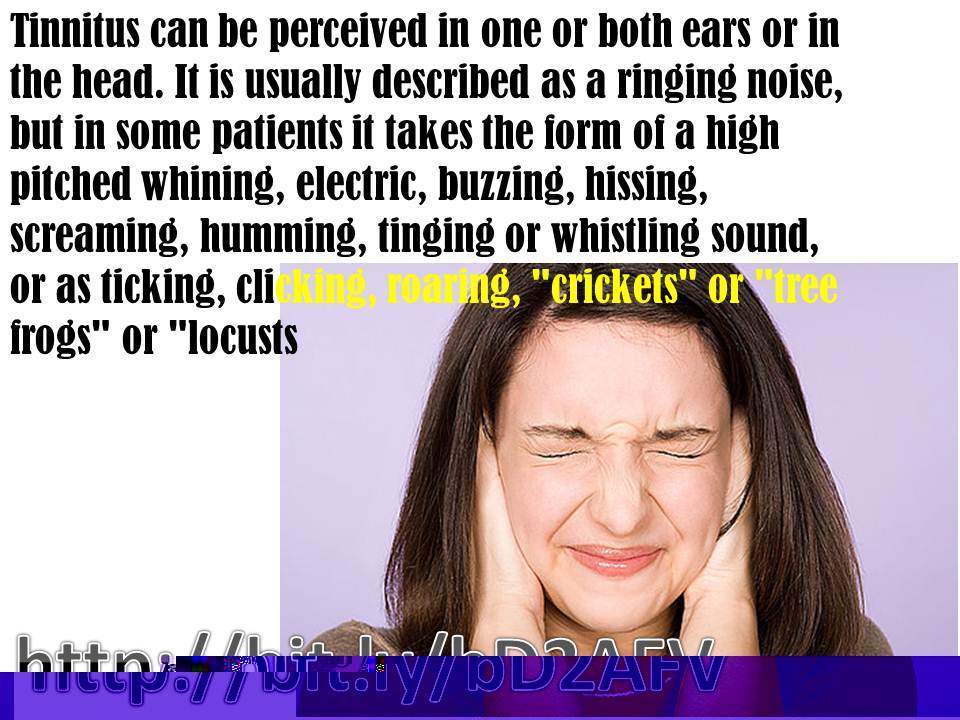 If you can't hear the sound of silence it may be tinnitus | Bonner General