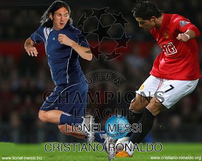 lionel messi vs ronaldo. messi vs ronaldo.