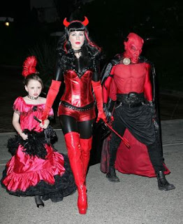 Female Devil Halloween Costume