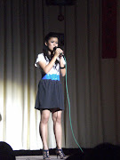 my very 1st singing performance =)