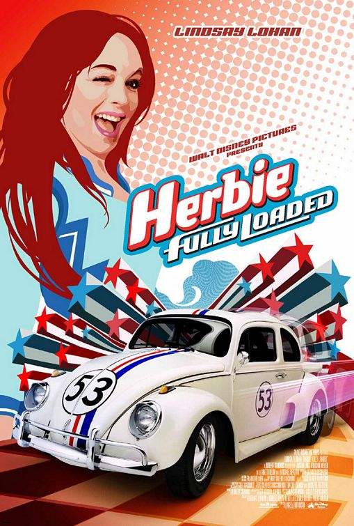 free movie film shared herbie fully loaded 2005. Black Bedroom Furniture Sets. Home Design Ideas