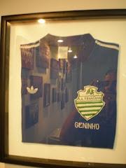 Camisa de Geninho, quando jogou pela Veterana.