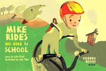 Mike Rides His Bike to School