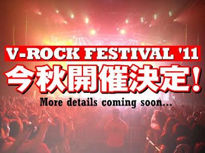 Se ha anunciado el V-ROCK FESTIVAL 2011