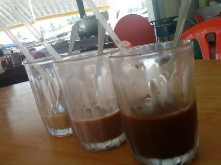 how to make iced kopi peng