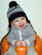 Erik con 4 meses