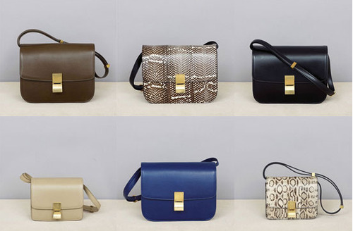 authentic celine bags online - Style in Town: Celine Classic Box Bag- Timeless perfection