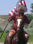 Sitting Bull w/ Captured American Flag