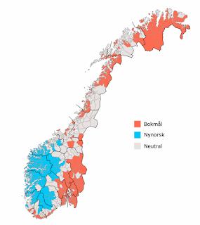 gjør bokmål om til nynorsk
