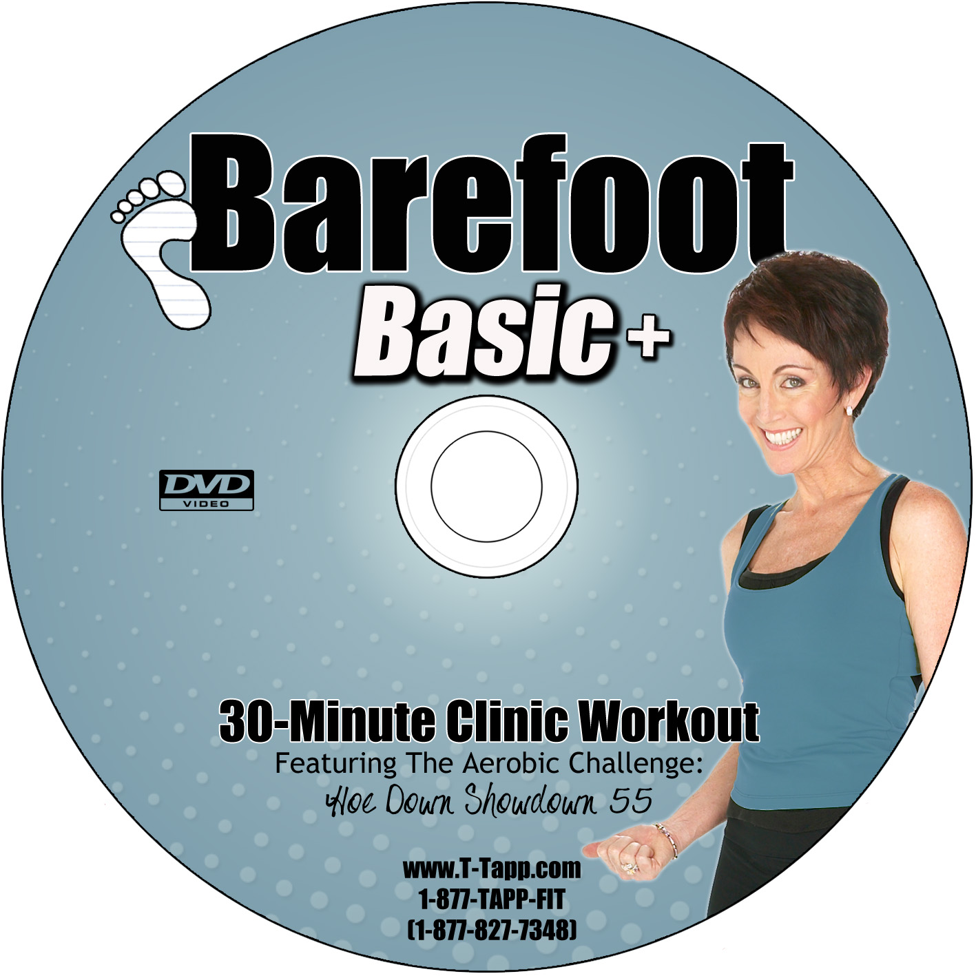 Charlotte S Fitness Dvd Reviews: [Workout Review] T-Tapp's Barefoot Basic Plus DVD