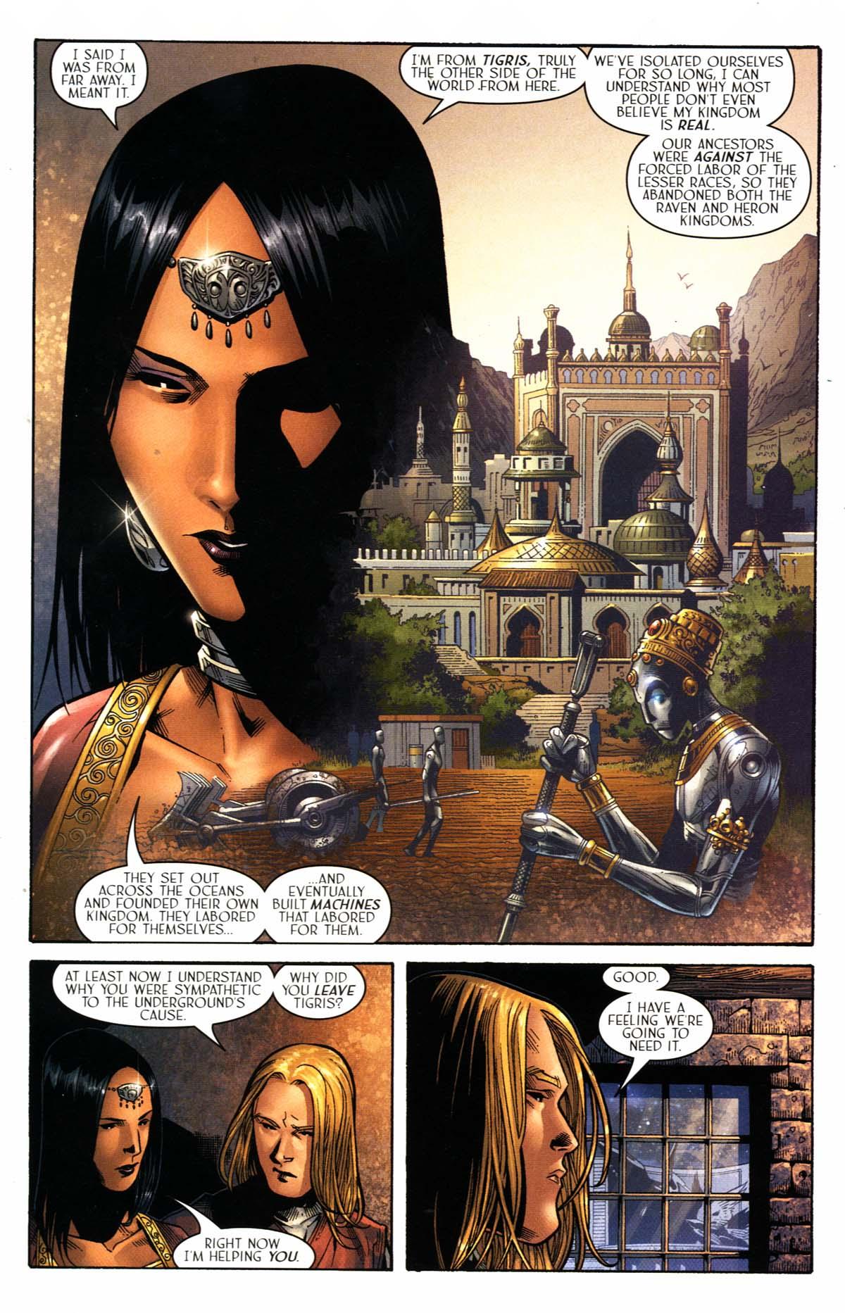 Read online Scion comic -  Issue #23 - 21