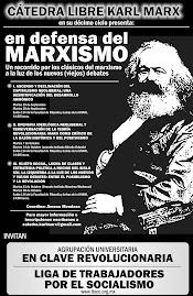 Catedra libre Karl Marx