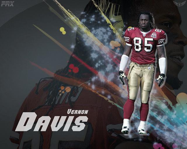 Vernon Davis 49ers Wallpaper NFL Wallpapers:...