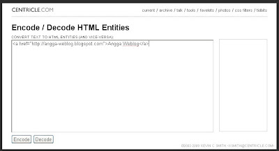 How to put HTML code in blog post
