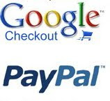 Blogger Online Store Support Paypal and Google Checkout