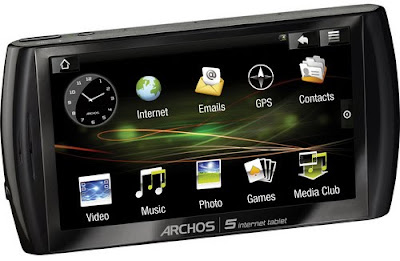 archos 5 android internet tablet