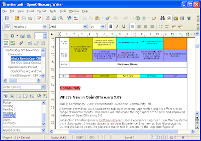 Free Download Microsoft Word Portable Alternative - OpenOffice Writer
