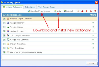 Free Dictionary and Translator Software