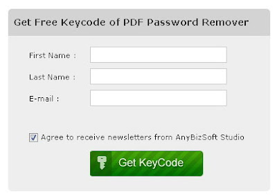 Free PDF Password Remover from AnyBizSoft