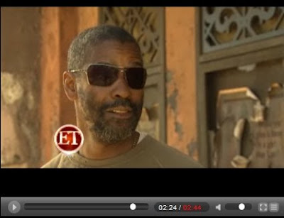 Denzel Washington Book of Eli