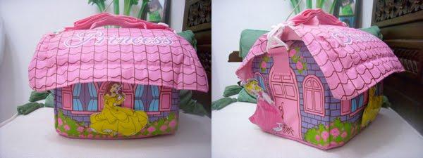 putar tas dibuka tutup lewat atapnya cantik untuk dipakai anak anak