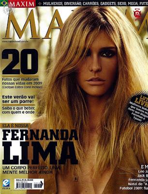 Fernanda Lima en Maxim Brazil Enero 2010
