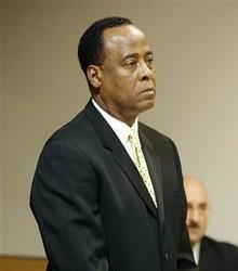Conrad Murray será acusado de la muerte de Michael Jackson