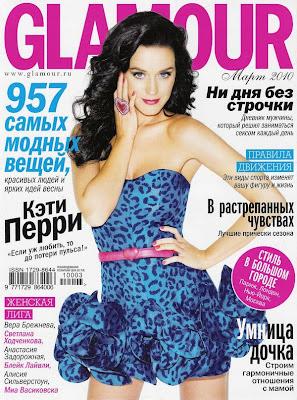 Katy Perry en la Revista Glamour Rusia (Marzo 2010)