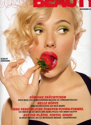 Scarlett Johansson en CosmoBeauty Alemania