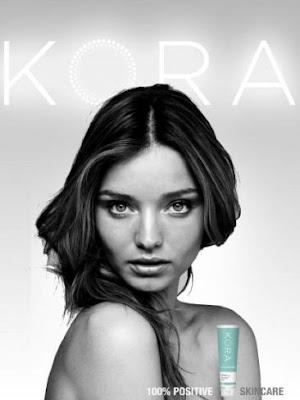 Miranda Kerr se desnuda para Kora