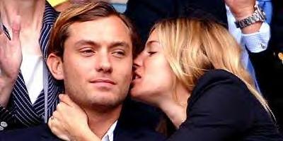 Jude Law y Sienna Miller reunidos en secreto