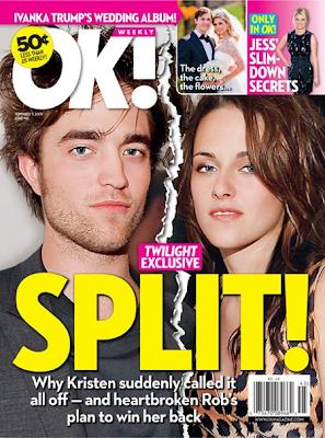 Kristen Stewart rompe con Robert Pattinson