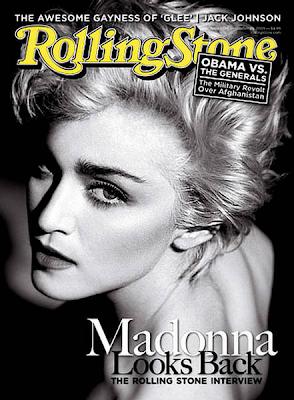 Madonna en la Portada de Rolling Stone US (Octubre 2009)