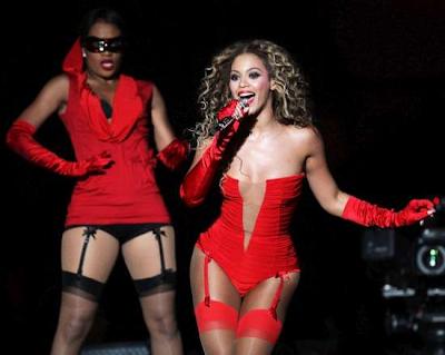 Beyonce en los MTV Europe Music Awards 2009