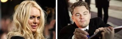 Lindsay Lohan muy interesada en Leonardo di Caprio