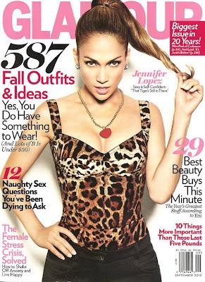 Fotos de Jennifer Lopez en la Revista Glamour US (Septiembre 2010)