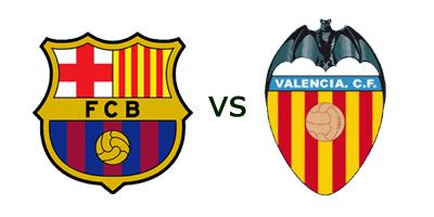 Barcelona vs Valencia en VIVO