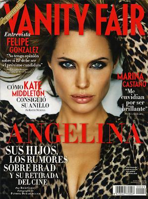 Angelina Jolie Portada Vanity Fair España