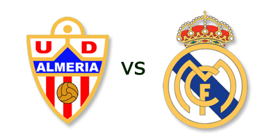 UD Almeria vs Real Madrid en VIVO