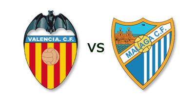 Valencia CF vs Malaga CF en VIVO
